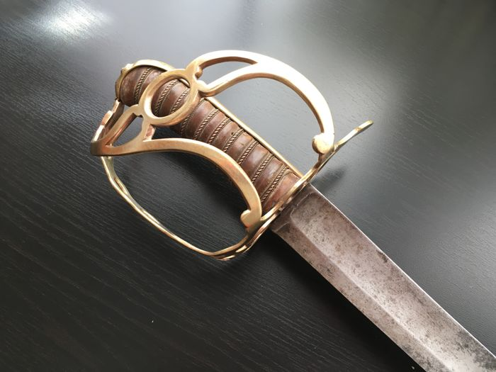 Very rare French Grendier à cheval officer sword, French Revolution,Napoleonic 1789-99