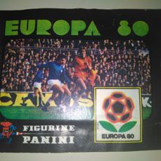 Panini - Europa 80 Italia - Very first Panini European Championship issue - Original unopened pack.