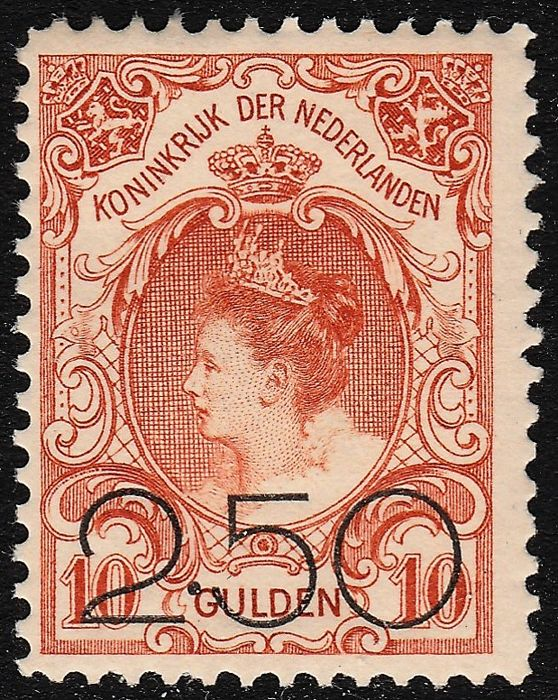 The Netherlands 1920 - Clearance Emission - NVPH 104