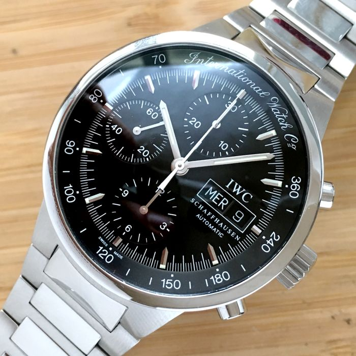 IWC - GST Steel Automatic Chronograph  - 3707 - Men - 2000-2010