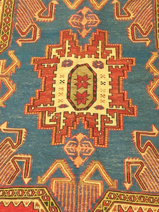 Hand-knotted Persian Sirjan kilim, size 196 × 123 cm