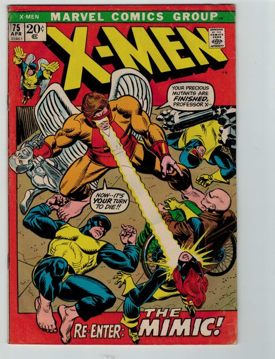 X-Men #75 - Marvel Comics - (1972)