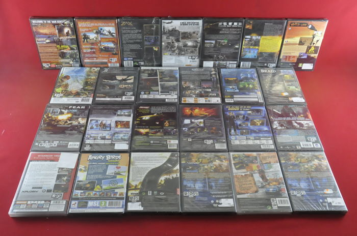 25 Pc games eg 007 Nightfire, Heavy Gunner Catwoman and more