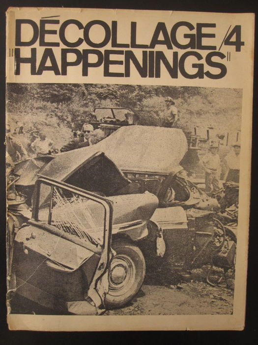 "Wolf Vostell / Alan Kaprow - Décollage/4 ""Happenings"" - 1964"