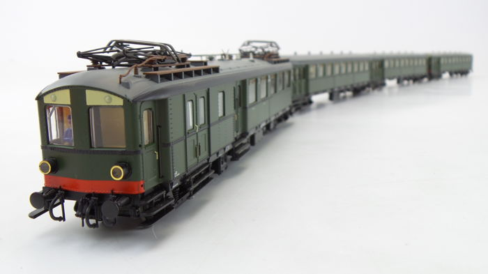 Roco H0 - 43744/44982(.1) - Train unit - 4-Delige NS Blokkendoos Mat.'24 - NS