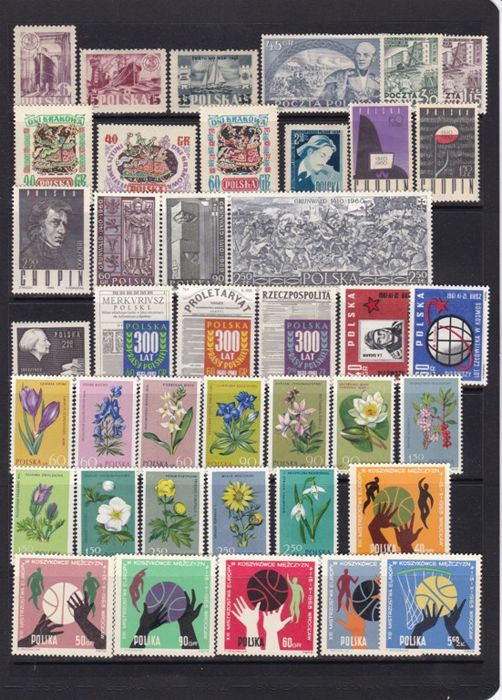 Poland - Series Collection and HB 1955/1987