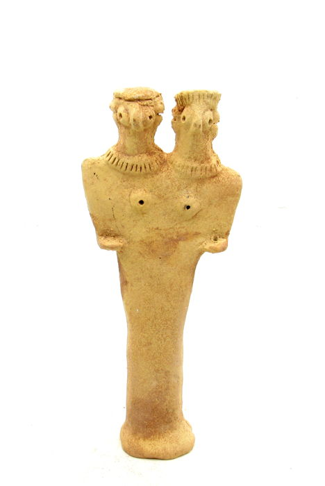 Syro-Hittite Terracotta Fertility Male & Female Idol  / Figurine - 175 mm