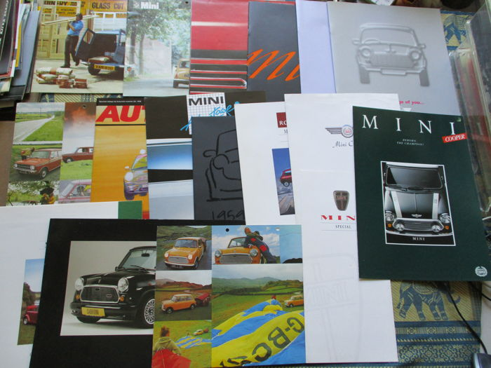 Brochures / Catalogues - 1970-1999 - Mini