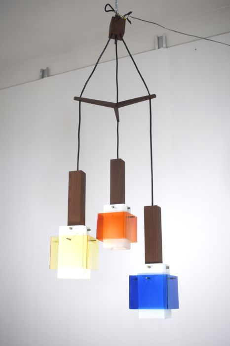 Harvey Guzzini - Pendant light with three light elements