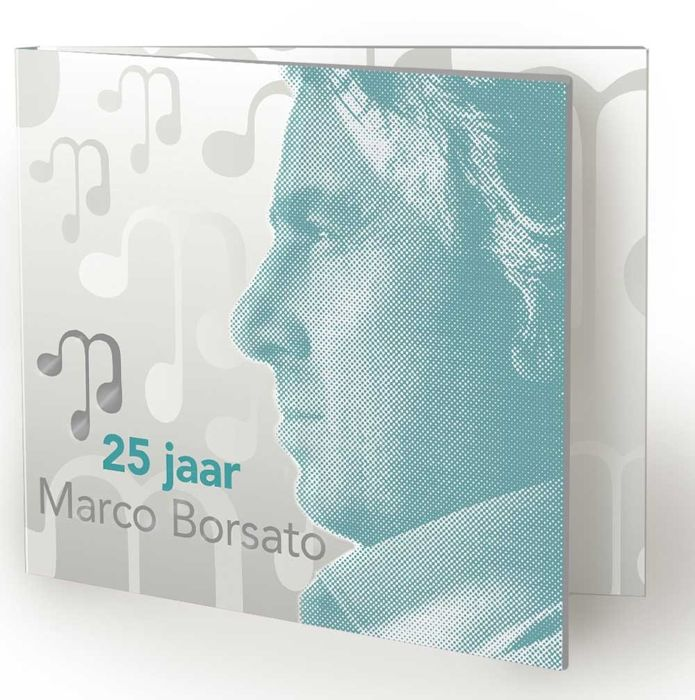 The Netherlands 2015 - Silver stamp Marco Borsato