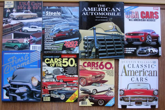 American Cars 8 books