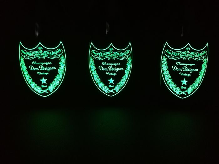 2009 Dom Perignon Luminous Brut - 3 bottles