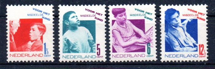 Netherlands 1931 - Child relief stamps - NVPH 240/243