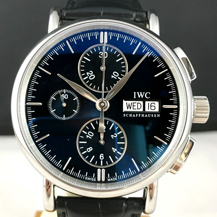 IWC -  Portofino Automatic Chronograph (New with tags) - IW378303 - Heren - 2018