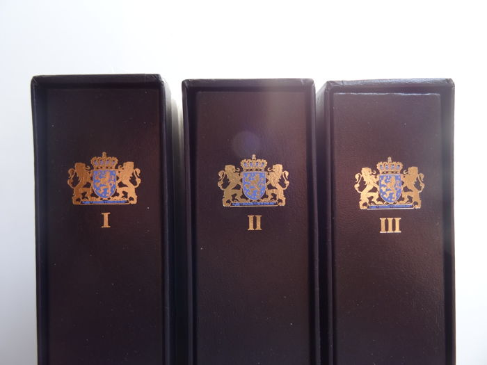 Accessories - Complete set of the three DAVO LX print albums Netherlands parts I, II and III (1852/1989)