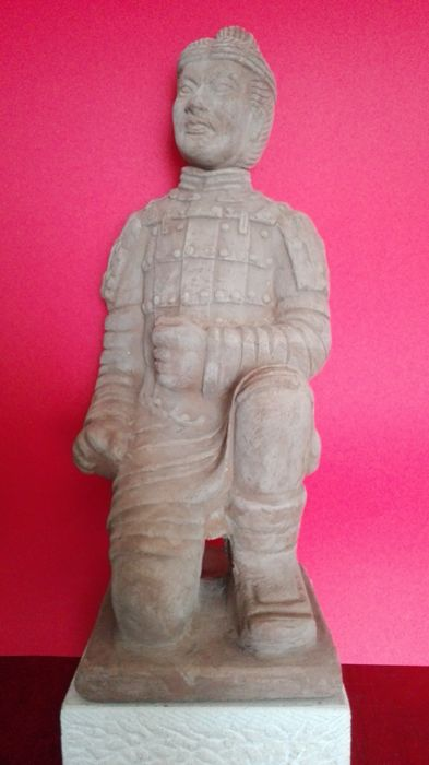 Large warrior from Xi'an army - Late 20th century