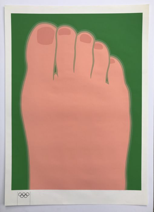 Tom Wesselmann - Foot (for Olympia)