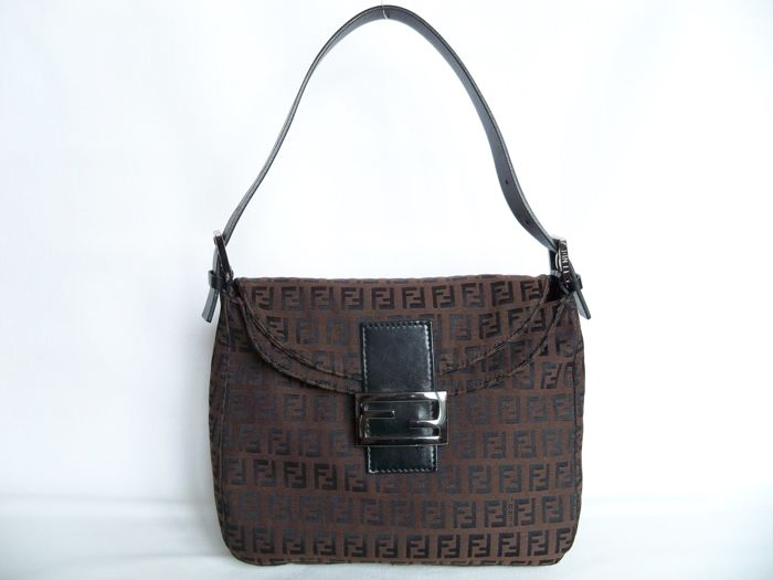 "Fendi - ""Zucca"" - Handbag/Shoulderbag - *No Reserve price*"