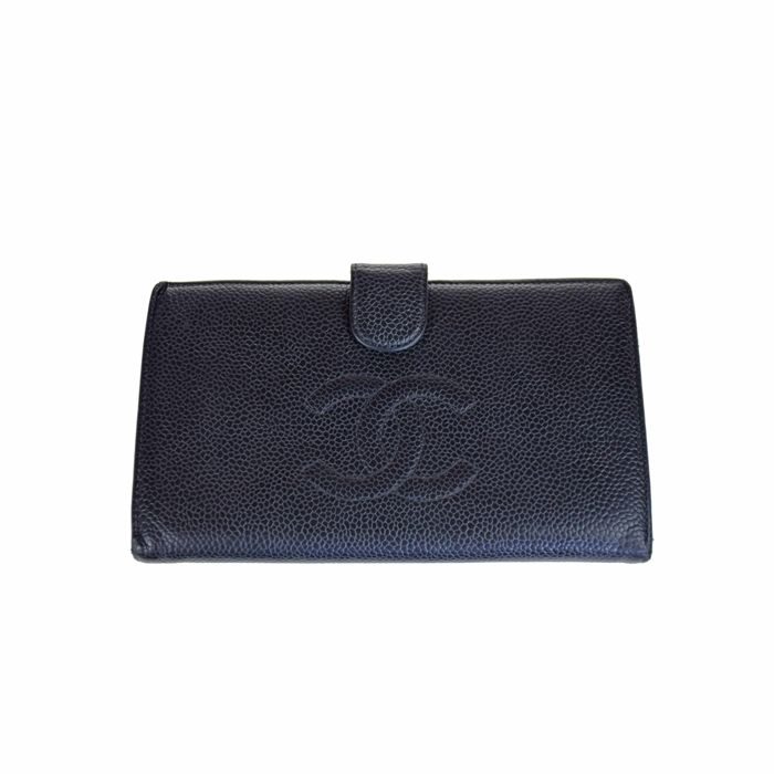 Chanel - Long Logo CC Portemonnee