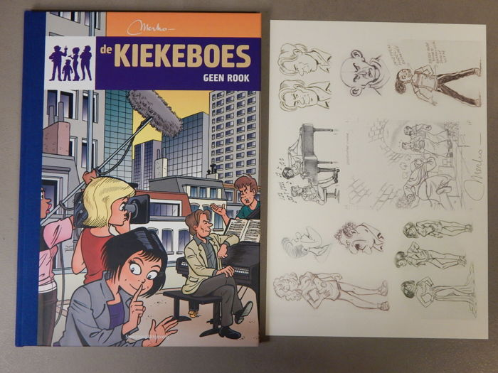 De Kiekeboes 138 - Geen Rook + signed print - artist's proof - luxury hardcover with linen spine - first edition (2013)