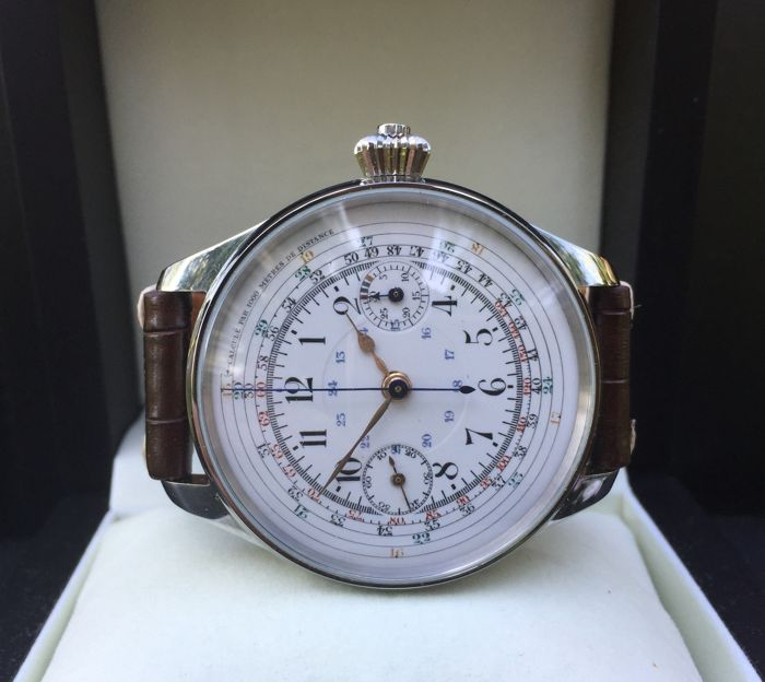 Valjoux -  chronograph marriage watch - Heren - 1901-1949