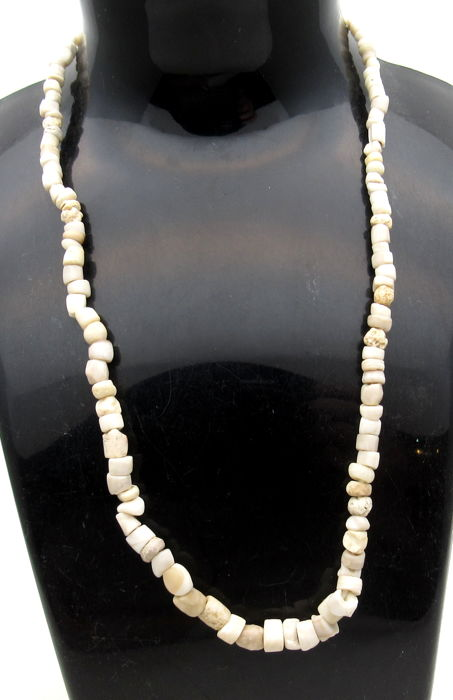 Ancient Indus Valley Harappa Necklace with Stone Beads - 385 mm