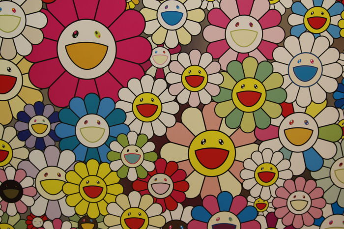 Takashi Murakami - Flowers from the village of Ponkotan