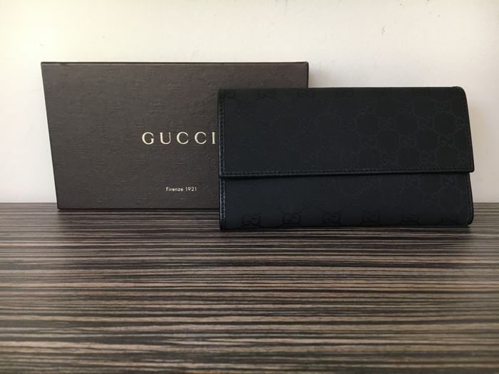 Gucci - Monogram Canvas Wallet
