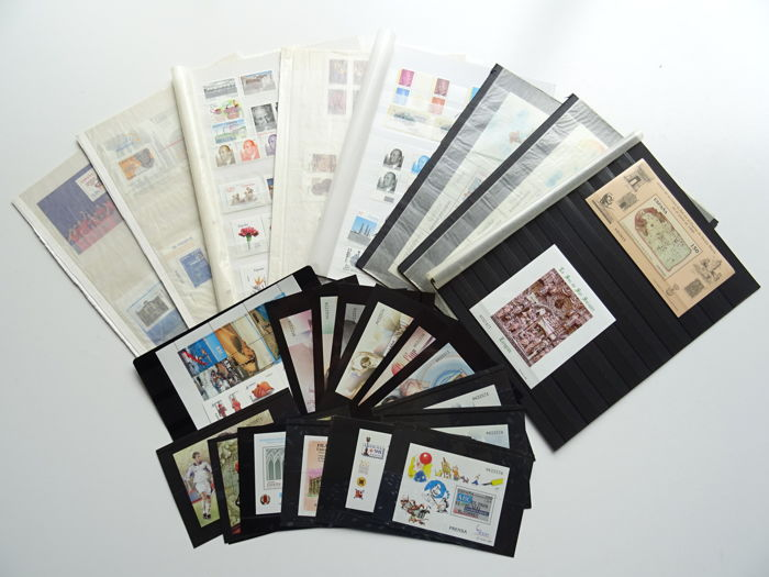 Spain 1998/2008 - Selection of additions on stock cards