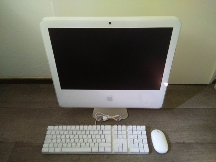 "Apple iMac 20"" - Intel Core2Duo 2.16Ghz, 1GB RAM, 250GB HDD, Superdrive - with original Apple keyboard & wireless mouse"
