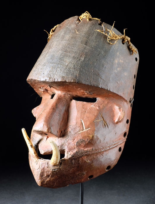 KATOYO Mask - TCHOKWE - Democratic Republic of the Congo