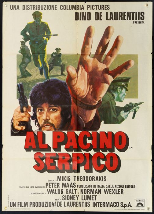 Al Pacino - Serpico - Peter Maas - Biographic movie, 1974