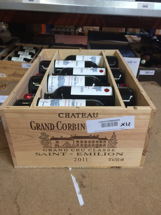 2011 Château Grand Corbin Despagne - Saint-Emilion Grand Cru Classé - 12 bottles (75cl)