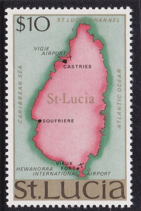 British Commonwealth 1859/74 - St. Lucia , Gilber and Ellice , Ionian I. , New Hebrides and Papua New Guinea - a selection