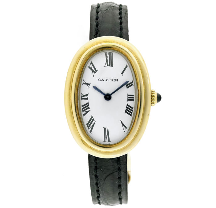 Cartier - Baignoire  18K Gold Watch - Women - 1990-1999