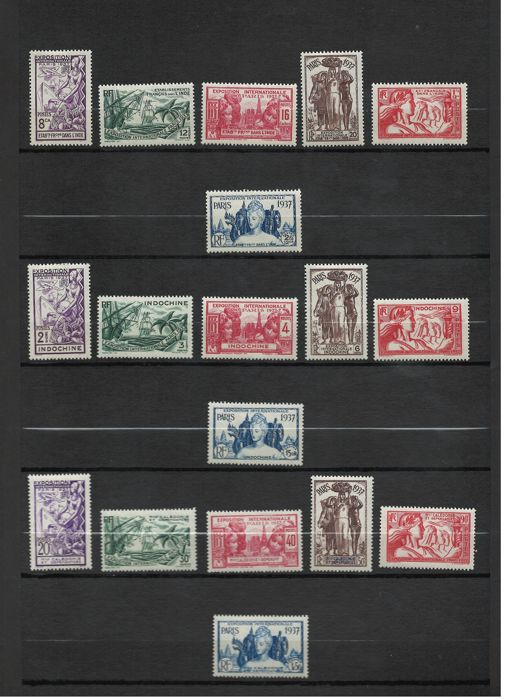 Former French colonies - Collection of complete series