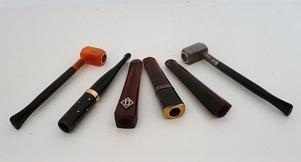 A lot of six cigarette-holders, Art Deco - 1925 - France