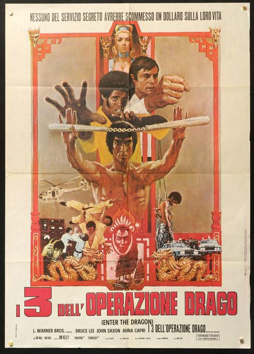 Bruce Lee - I 3 dell'operazione drago - Enter the Dragon