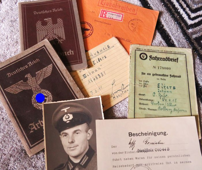 Mixed Lot of WWII Family Documents