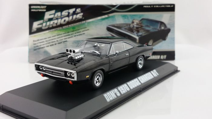 Fast And The Furious Vin Diesel Greenlight 1 43 Diecast Dodge