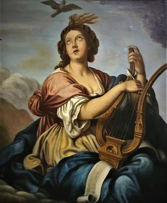 Classical Spanish School (Late 18th century ) - La musa Callíope