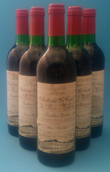 1975 Chateau La Tour Du Roc-Milon, Pauillac - 6 bottles (730ml)
