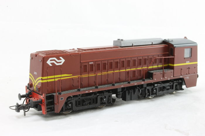 Roco H0 - Diesel locomotive - Serie 2200 - NS