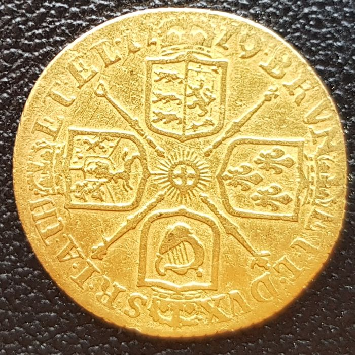 United Kingdom - 1/2 Guinea 1719 George I - gold