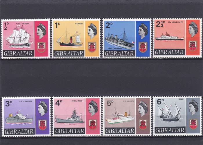 British Commonwealth 1967/80- Gibraltar - a selection