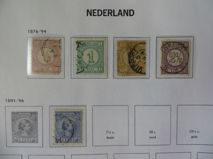 The Netherlands - Collection in a Davo album