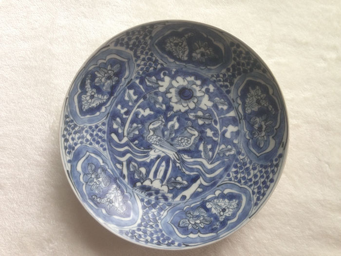 Rare porcelain bowl, shipwreck discovery - China - 17th century
