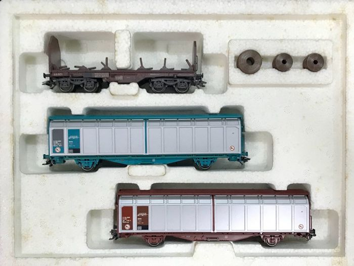 Märklin H0 - 47881 - Goederenwagon - 3 wagons set - SNCF