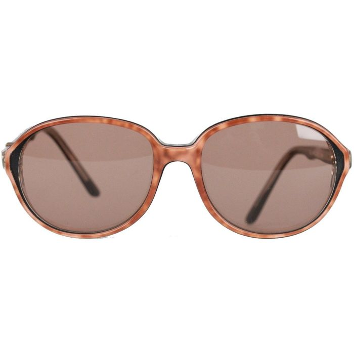 YVES SAINT LAURENT Vintage Tan Sunglasses CALCHAS 454 52 mm