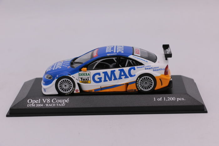 MiniChamps - 1:43 - Limited Edition - Opel V8 Coupé- DTM 2004